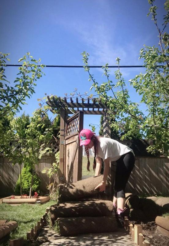 Man nhan vuon rau qua triu canh trong nha Hoa hau Viet o troi Tay-Hinh-7