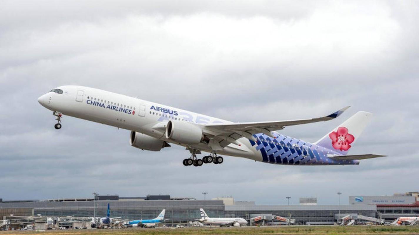 """Kham pha """"sieu may bay"""" Airbus A350 bi chim troi lam rach vo canh"""