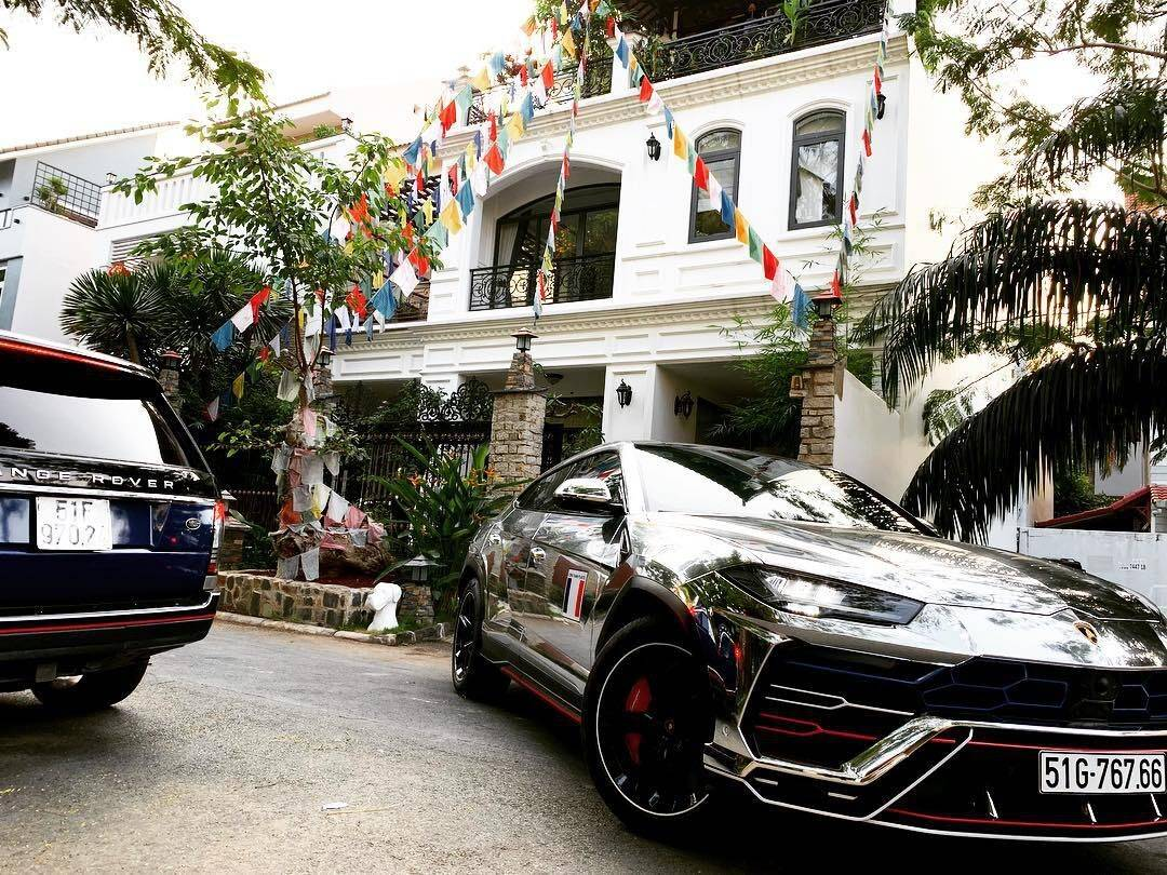 """Biet thu """"chat khong co cho de Rolls Royce"""" cua dai gia Minh Nhua-Hinh-10"""