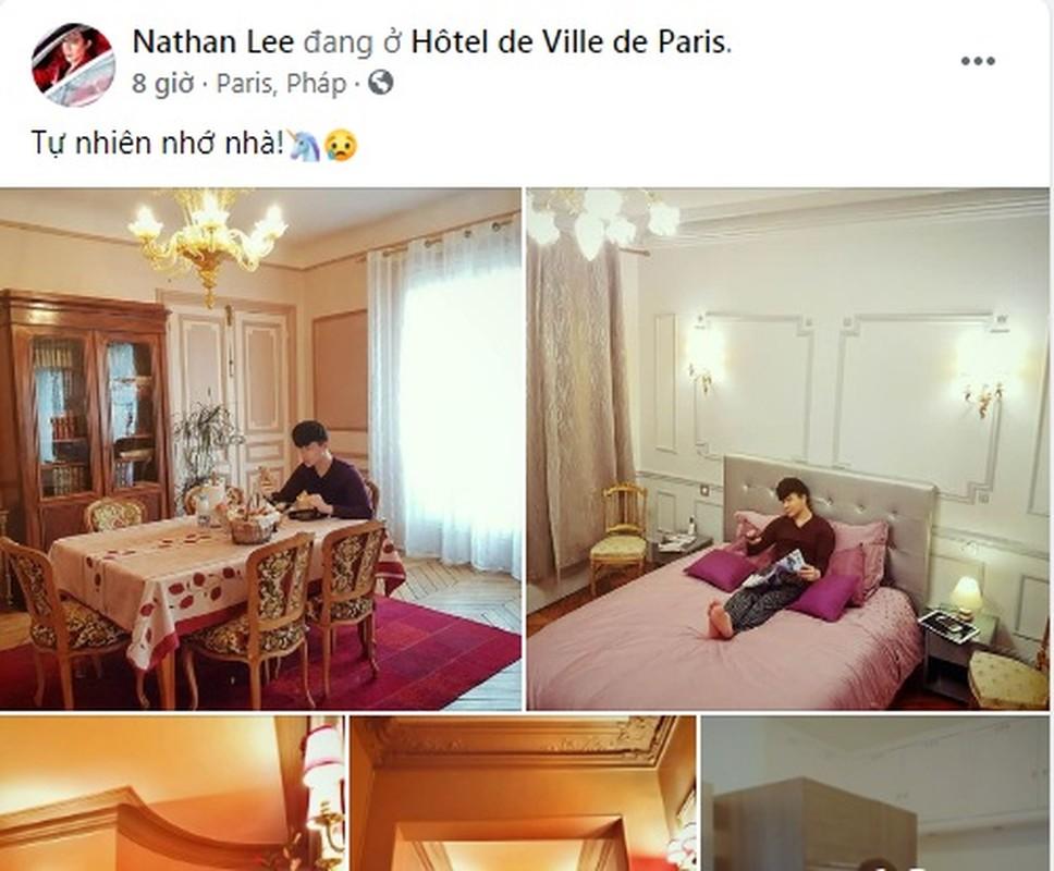 Noi that trang le trong khach san nghin ty cua Nathan Lee o Phap