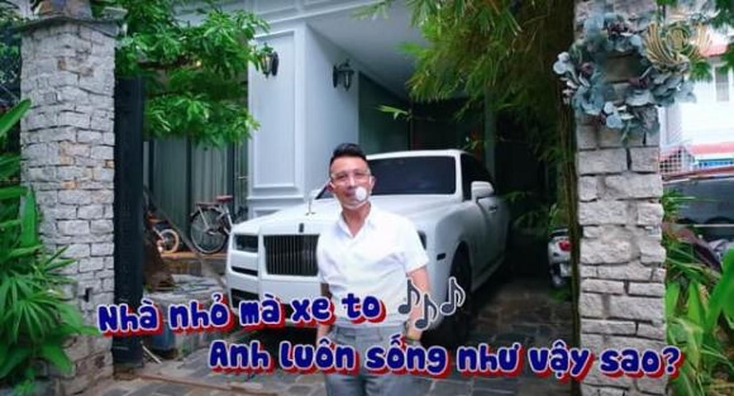 """Ben trong biet thu moi Minh Nhua """"xuong tien"""" chi de lam cho cat xe"""