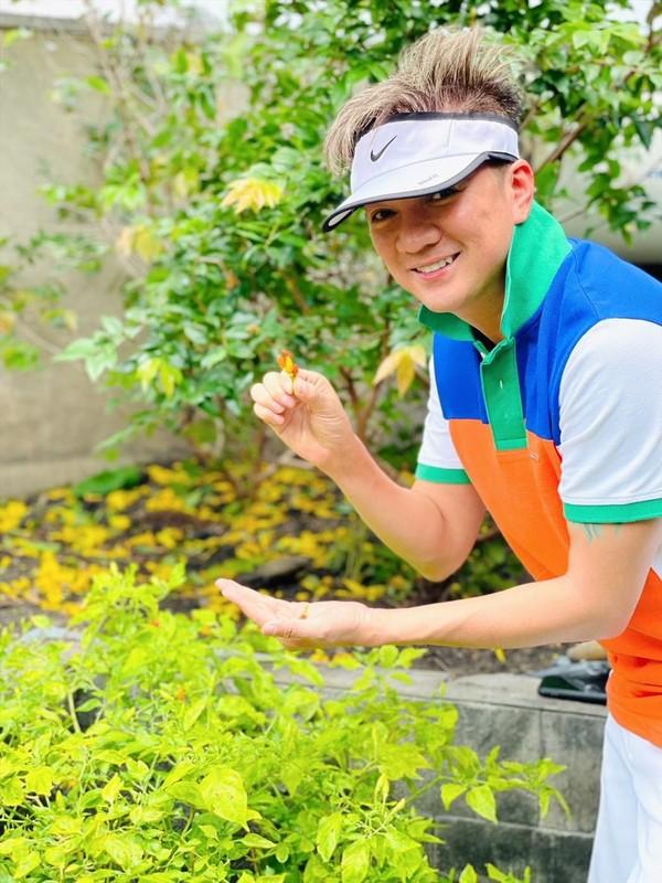 Man nhan vuon rau xanh muot trong biet thu 60 ty cua Dam Vinh Hung-Hinh-10