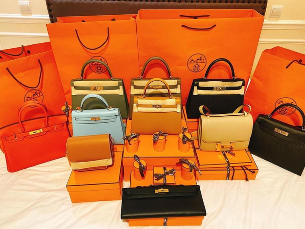 Choang con dau ty phu bo cu Ngoc Trinh om hang chuc tui Hermes mot lan shopping-Hinh-3