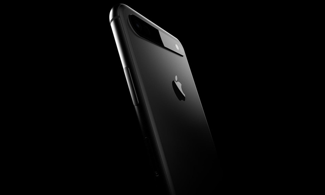 Xuat hien thiet ke iPhone 2019 voi camera nam ngang gay sot