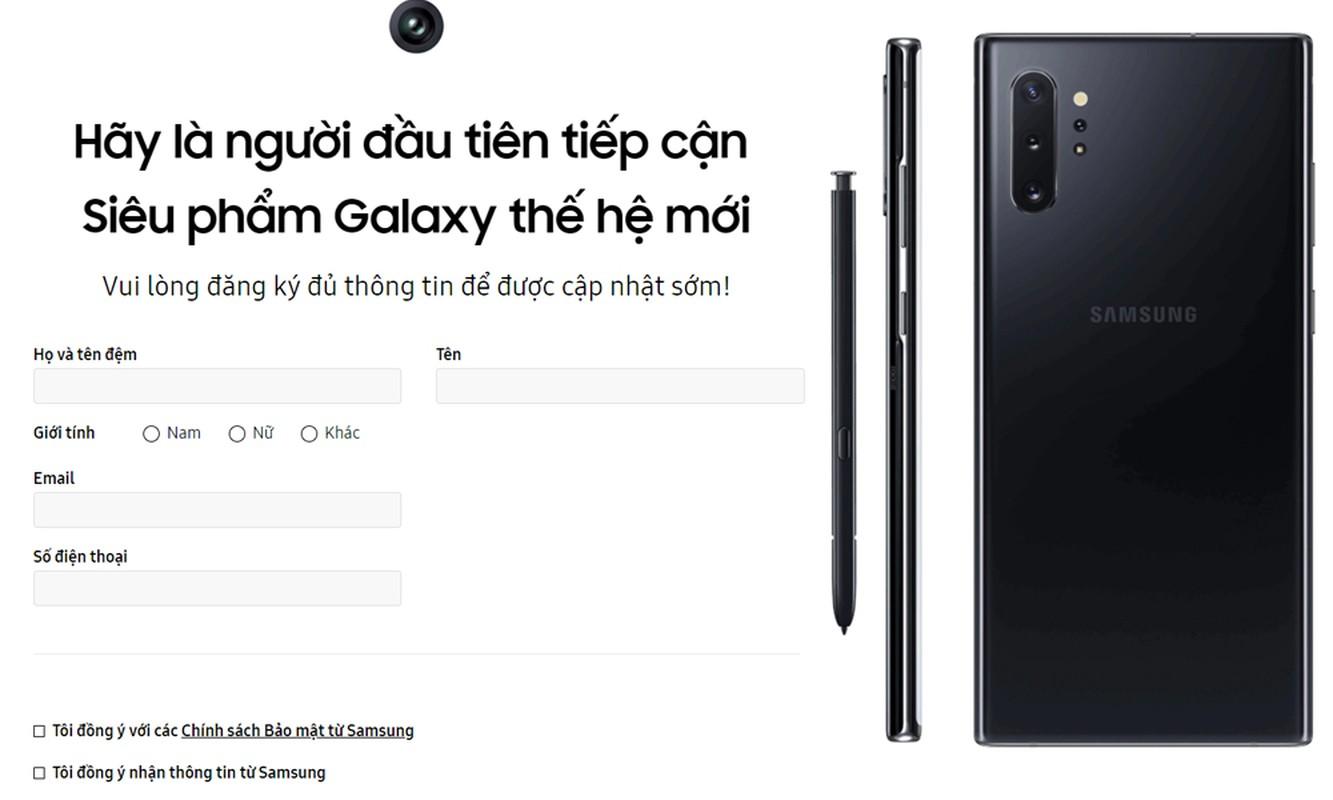 Samsung giam gia soc don Note 10, cac hang dong loat