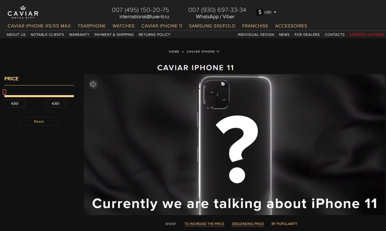 Chua ra mat, iPhone 11 da co ban do gia