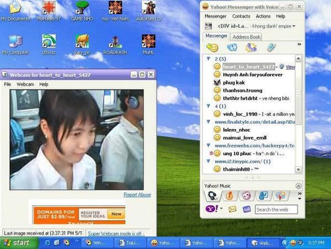 Thanh Xuan cua the he 8X, 9X doi dau dau chi co Yahoo Messenger de nho