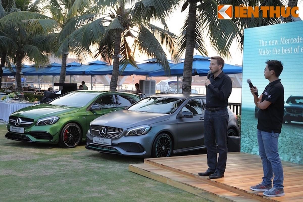 """Mercedes A-Class 2016 vua trinh lang Viet Nam co gi """"hot""""?-Hinh-2"""