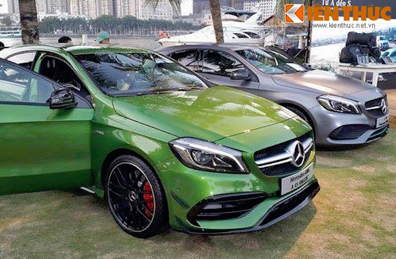 """Mercedes A-Class 2016 vua trinh lang Viet Nam co gi """"hot""""?-Hinh-3"""
