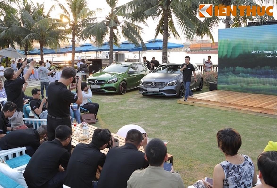 """Mercedes A-Class 2016 vua trinh lang Viet Nam co gi """"hot""""?"""