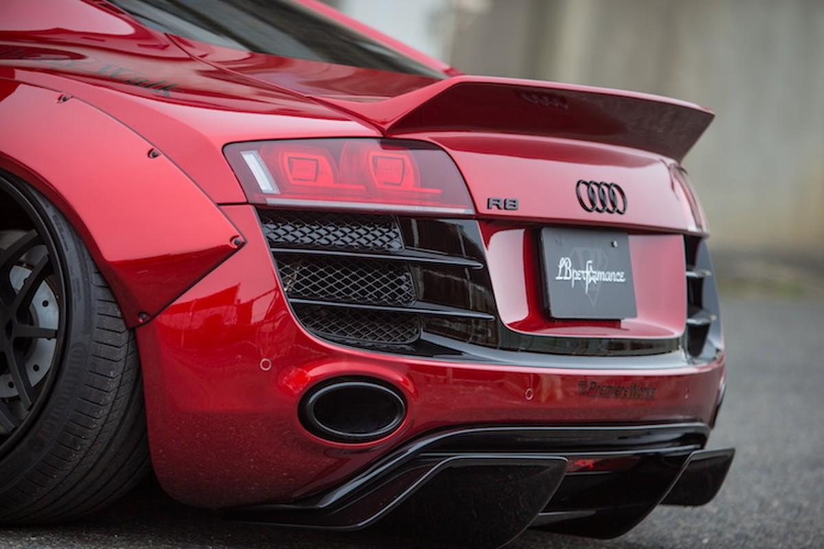 """Audi R8 """"do het bai"""" widebody Liberty Walk hon 700 trieu-Hinh-6"""