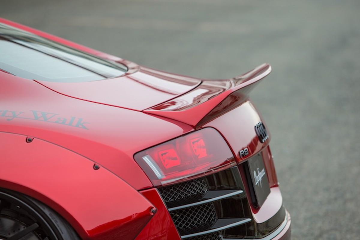 """Audi R8 """"do het bai"""" widebody Liberty Walk hon 700 trieu-Hinh-7"""