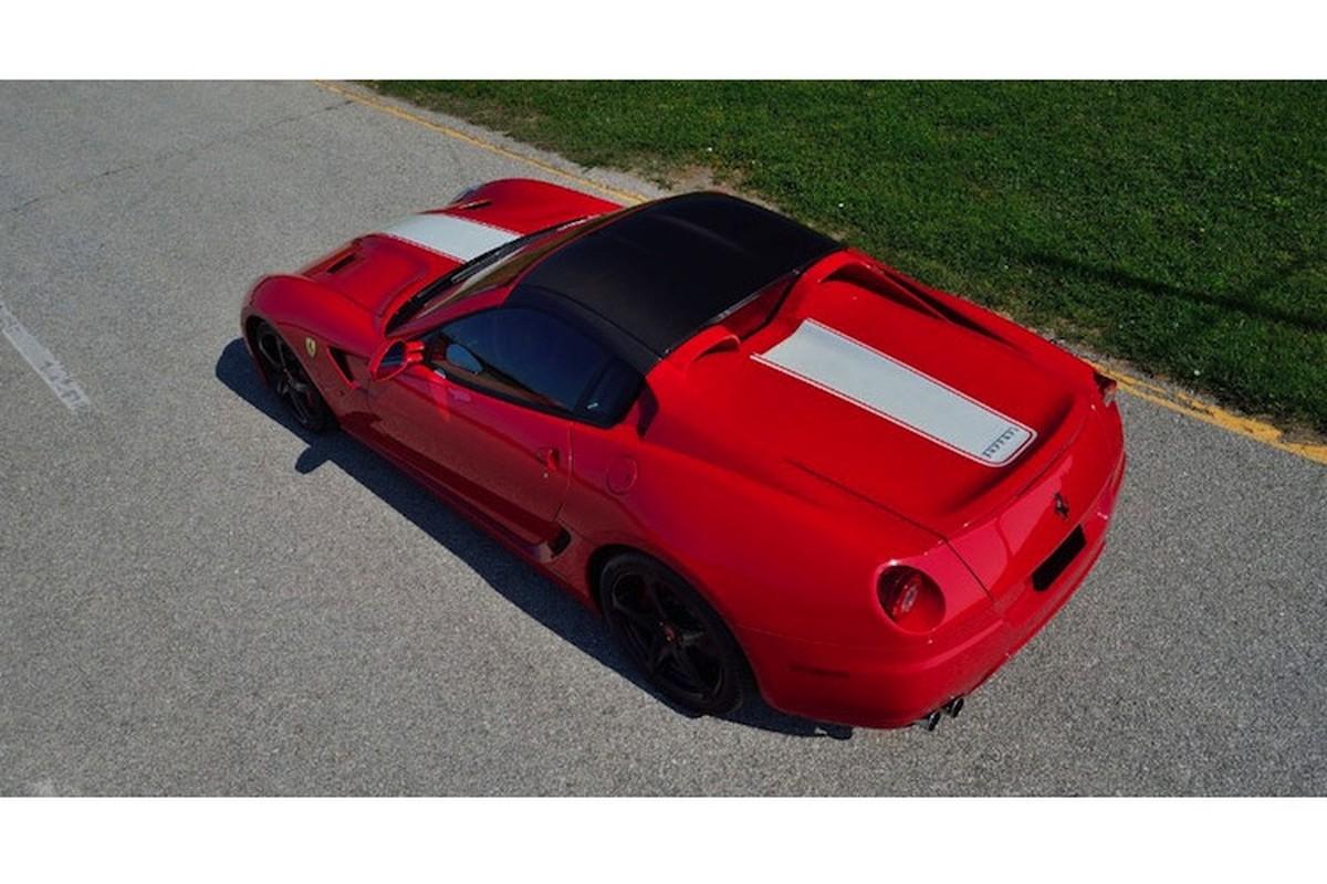 """Sieu xe mui tran """"hiem nhat The gioi"""" Ferrari 599 SA Aperta-Hinh-7"""