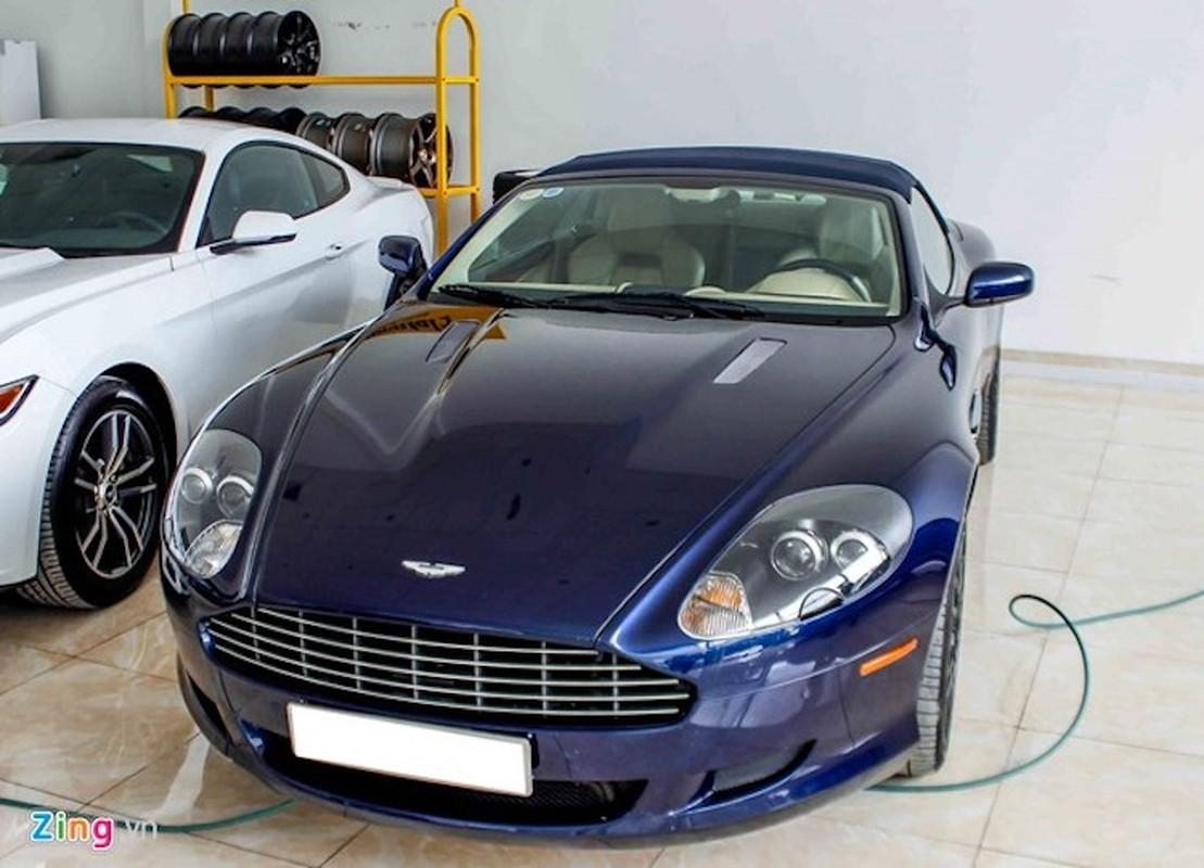 Aston Martin DB9 - sieu xe dinh dam mot thoi tai VN
