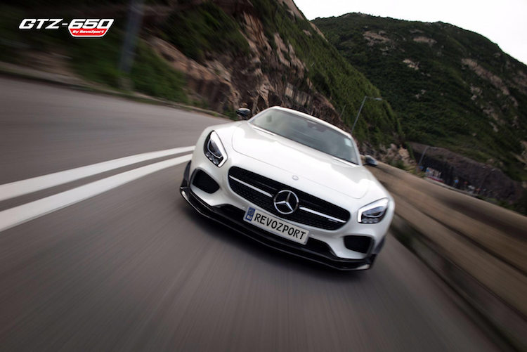 Can canh Mercedes AMG GT S
