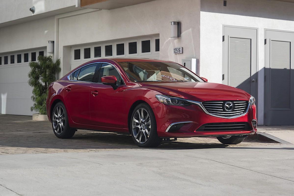 Mazda 6 ban nang cap 2017 duoc trang bi nhung gi?