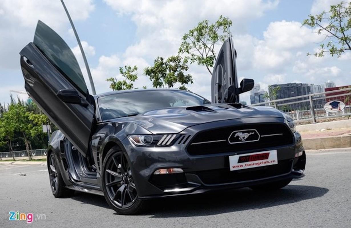 Ford Mustang do kieu Lamborghini het 250 trieu dong-Hinh-2