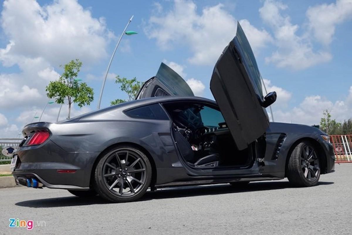 Ford Mustang do kieu Lamborghini het 250 trieu dong-Hinh-3
