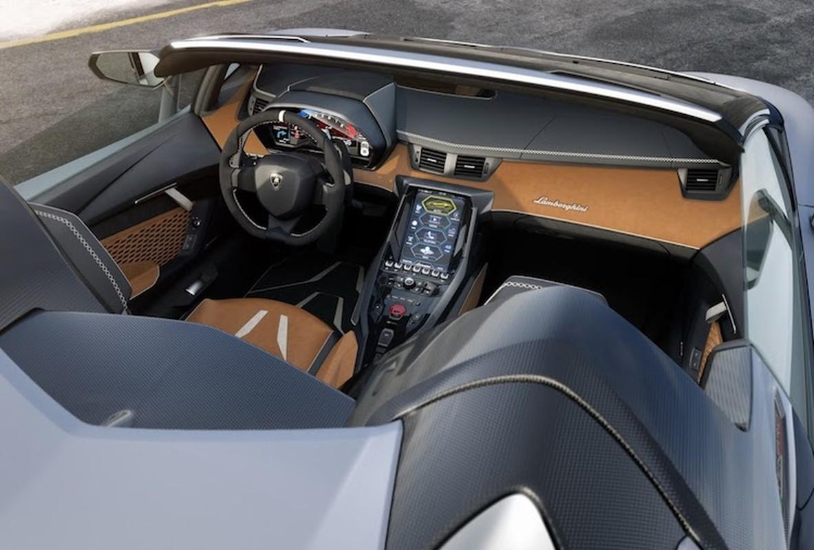 Chi tiet sieu pham trieu do Lamborghini Centenario Roadster-Hinh-5