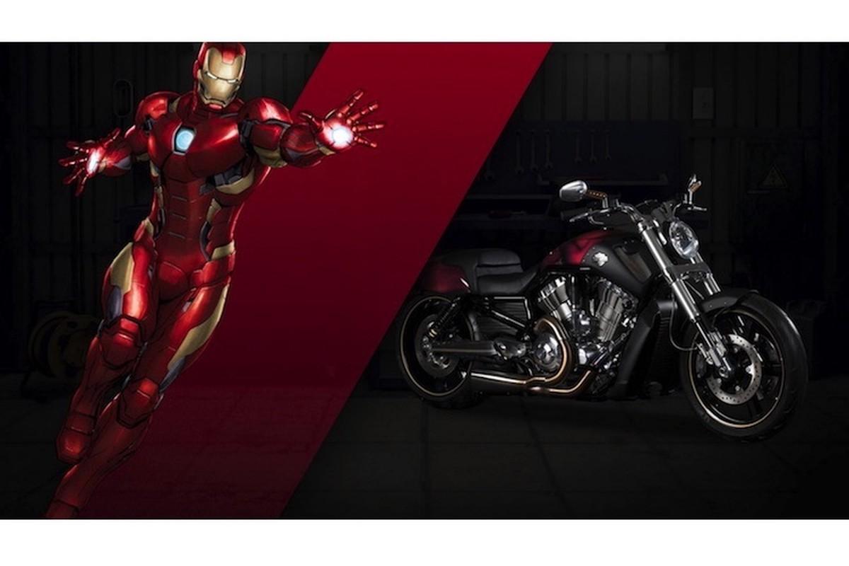 Dan xe no Harley-Davidson phong cach sieu anh hung Marvel-Hinh-5