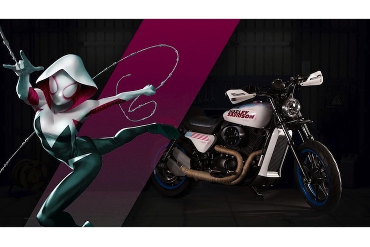 Dan xe no Harley-Davidson phong cach sieu anh hung Marvel-Hinh-6