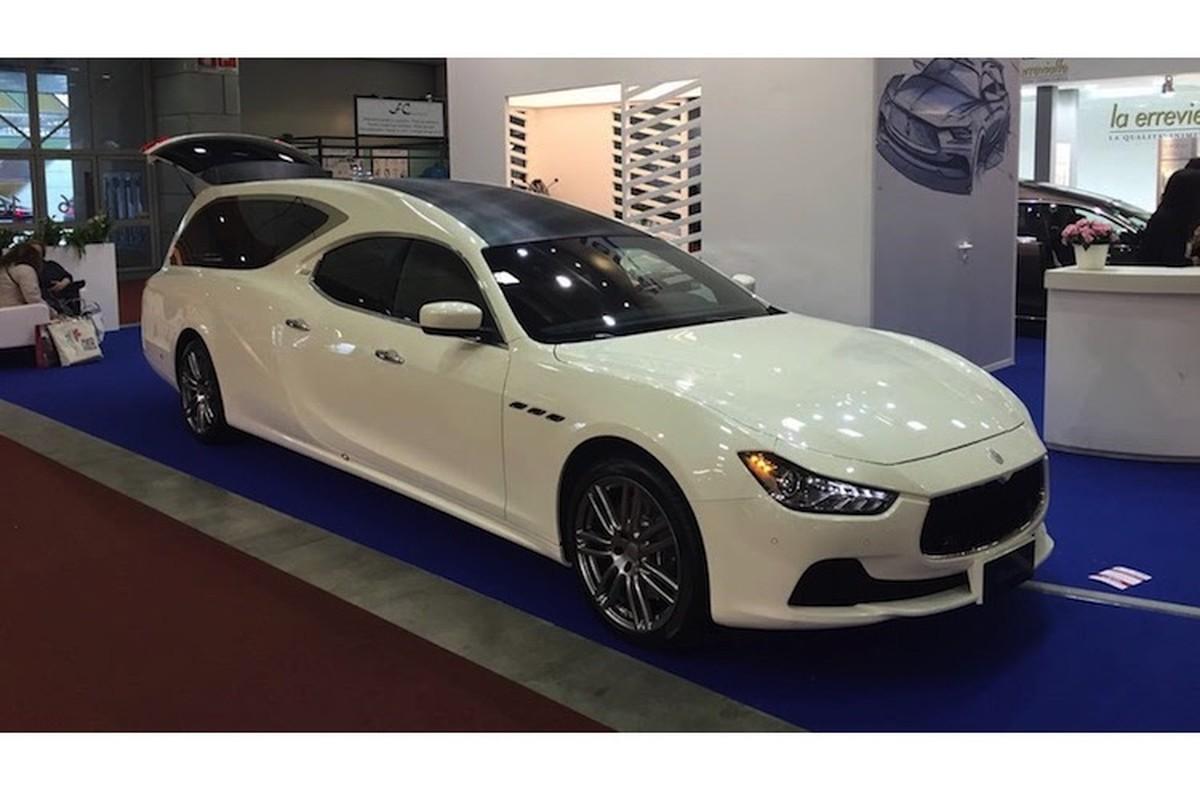 Xe sang Maserati Ghibli bien thanh... xe tang tai Y-Hinh-2