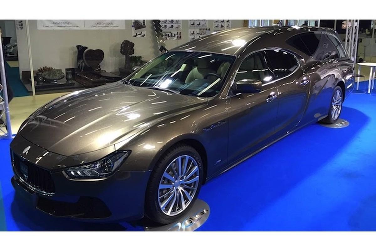 Xe sang Maserati Ghibli bien thanh... xe tang tai Y-Hinh-4