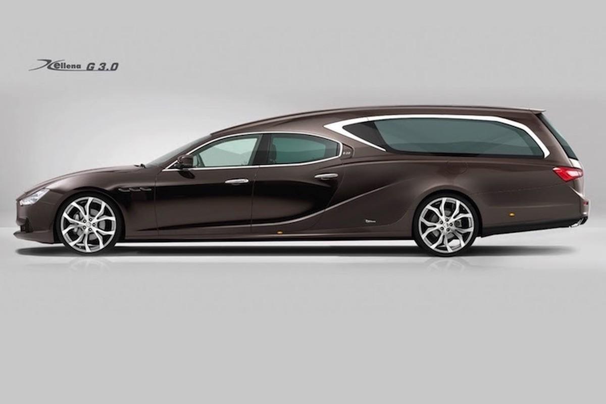 Xe sang Maserati Ghibli bien thanh... xe tang tai Y