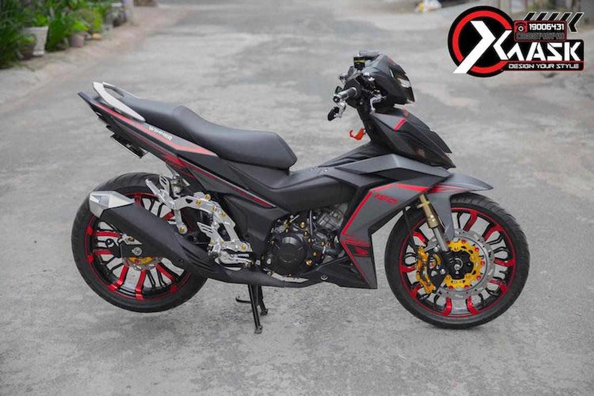 "Honda Winner ""do kieng"", tem trum cuc ngau tai Sai Gon"