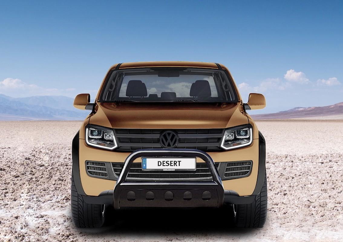 "Ban tai Volkswagen Amarok do offroad ""sieu khung"" gia 5 ty"