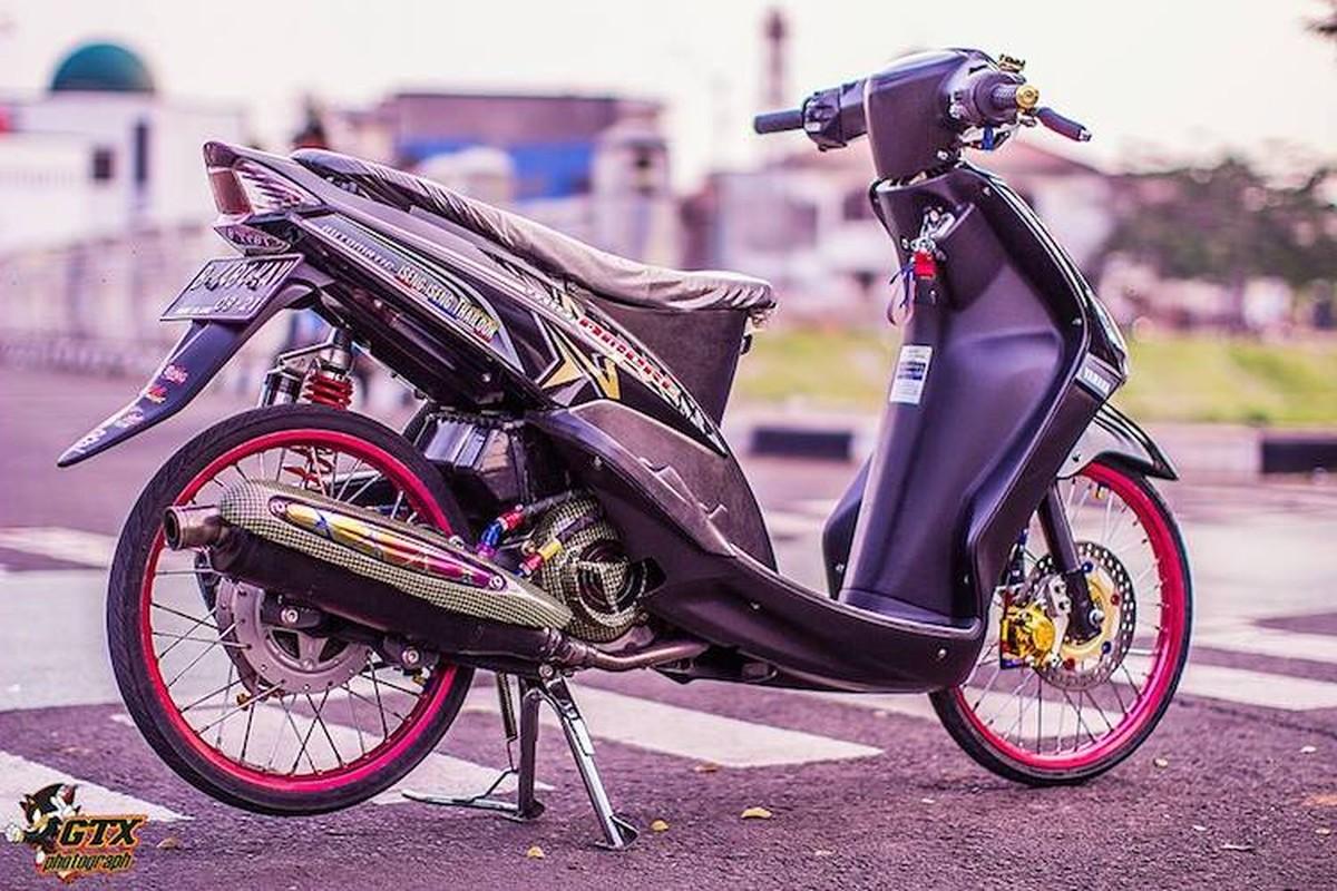 Scooter Yamaha Mio doi dau do drag kieng cuc chat-Hinh-11