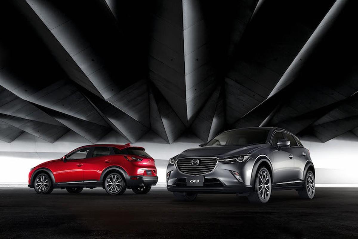 Mazda 2 va CX-3 phien ban 2017 chinh thuc ra mat