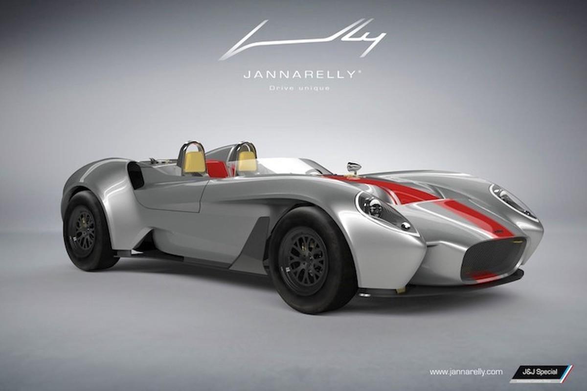 "Jannarelly Design-1 ""cha de"" cua Lykan Hypersport gia 1,8 ty"