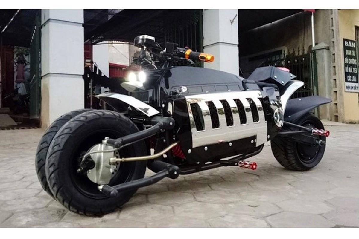 Dan choi Viet phat sot voi sieu moto