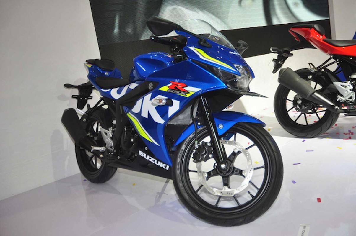 Can canh moto Suzuki GSX-R150 gia 47,1 trieu dong