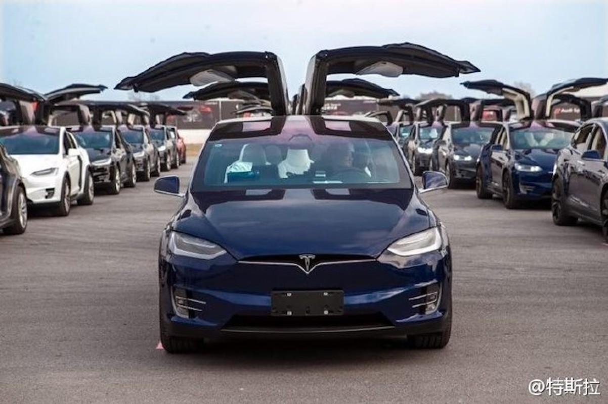 Hang tram sieu xe dien Tesla xep lop tai Trung Quoc-Hinh-2