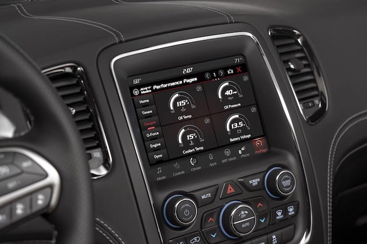"Soi SUV ""co bap My"" sieu manh Dodge Durango SRT 2018-Hinh-5"