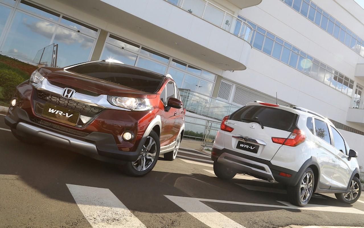 """Honda HR-V gia tu 545 trieu """"dau"""" Ford EcoSport"""