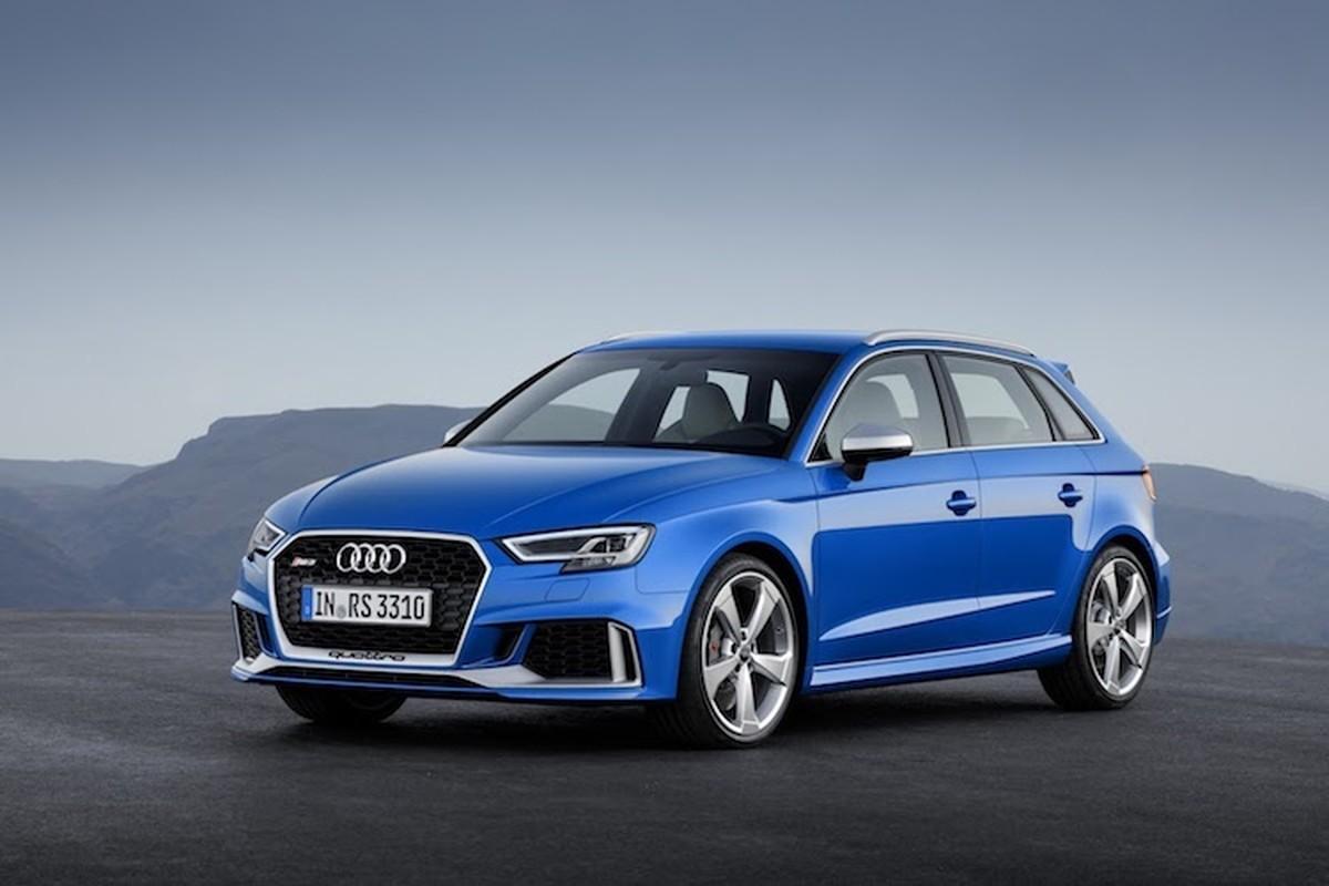 Audi RS3 Sportback se khien sieu xe phai de chung