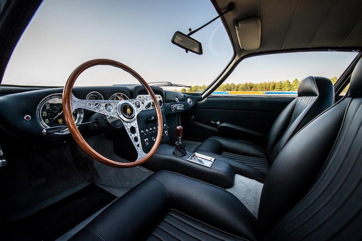 "Lamborghini 350 GT ""hoi sinh"" nhu moi sau 53 nam-Hinh-4"