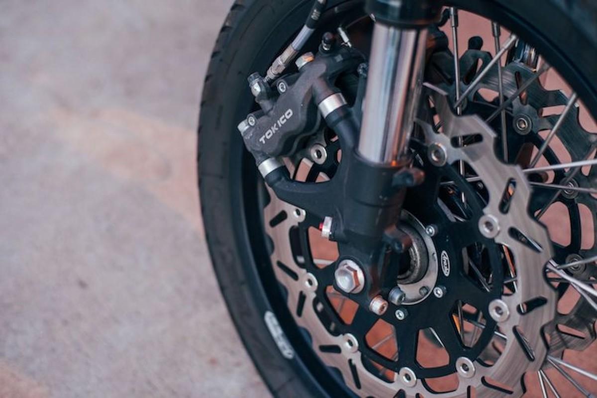 Honda CB550K do cafe racer cuc chat gia 205 trieu-Hinh-4