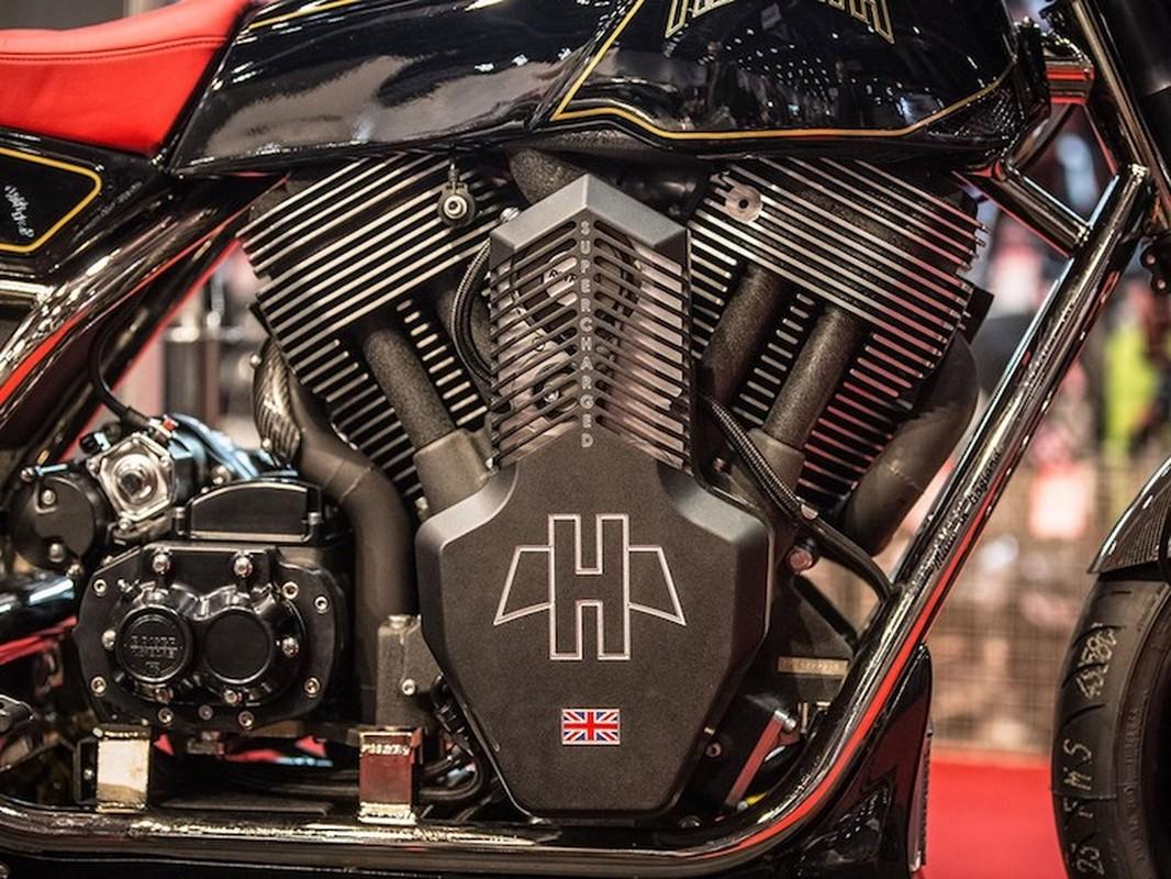 Sieu moto khung Anh Quoc Hesketh Valiant