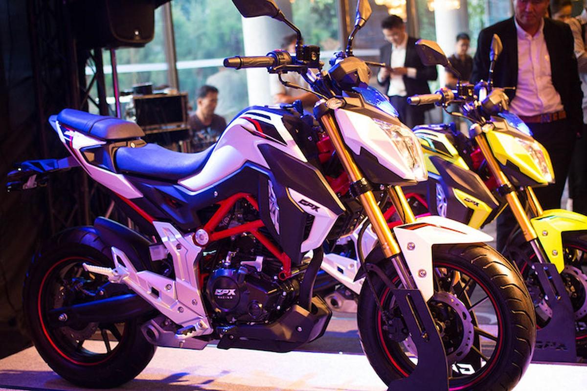 """Ducati Monster """"nhai"""" ra mat ban 150cc gia 38 trieu dong"""