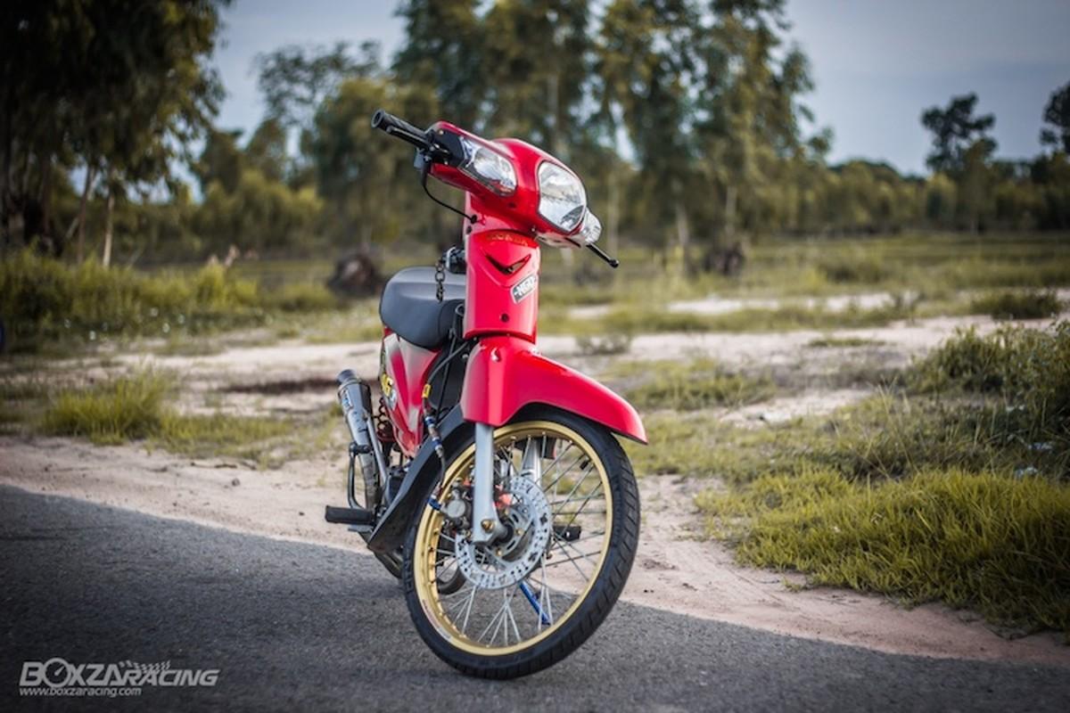 Honda Super Dream 110 do khung, dat hang o Thai-Hinh-2