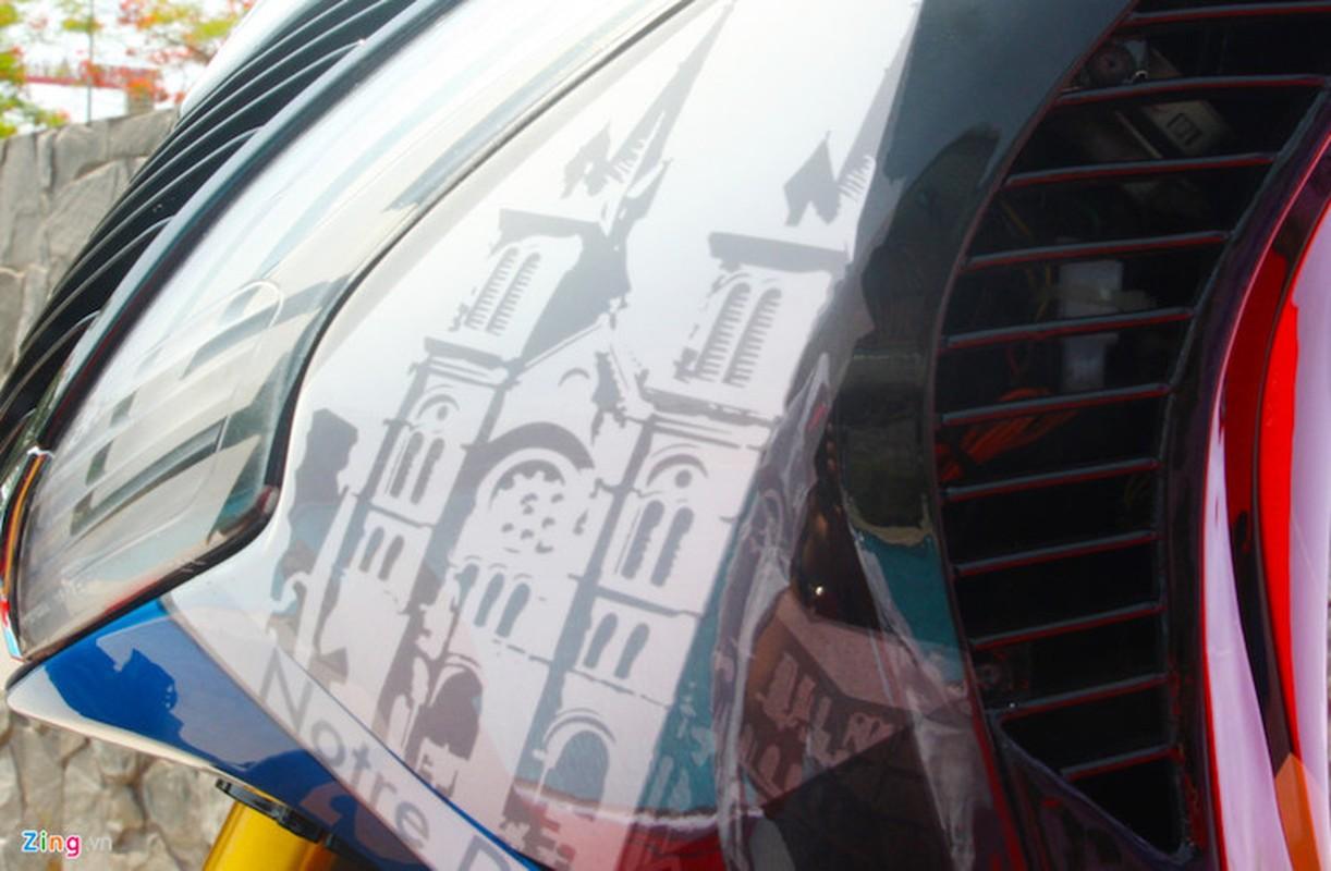 """Honda SH do khung o Sai Gon """"khoe hang"""" tai Ha Noi-Hinh-4"""