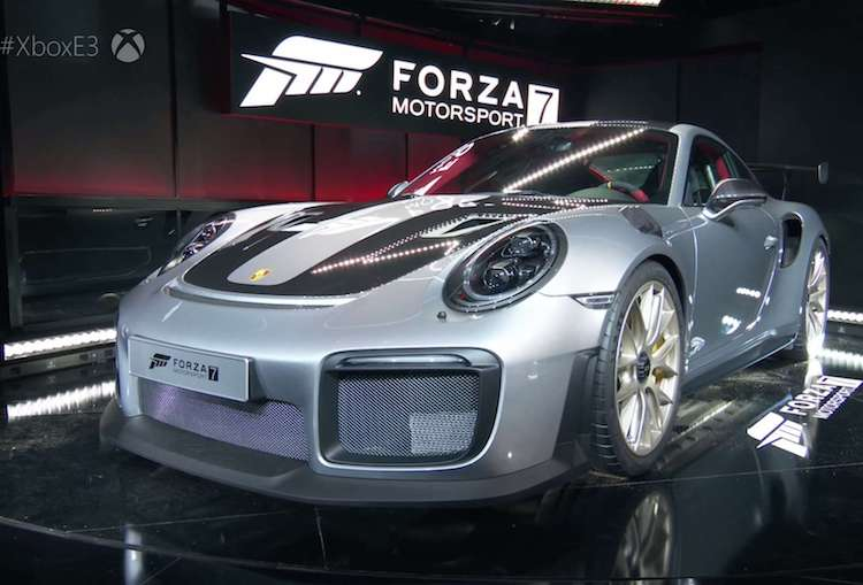 "Sieu xe Porsche 911 GT2 RS 2018 ""dai khung"" lo dien"