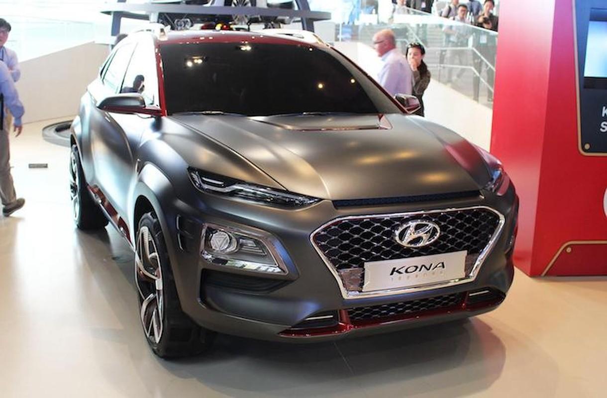 """Nguoi sat"" Hyundai Kona 2017 phien ban dac biet"