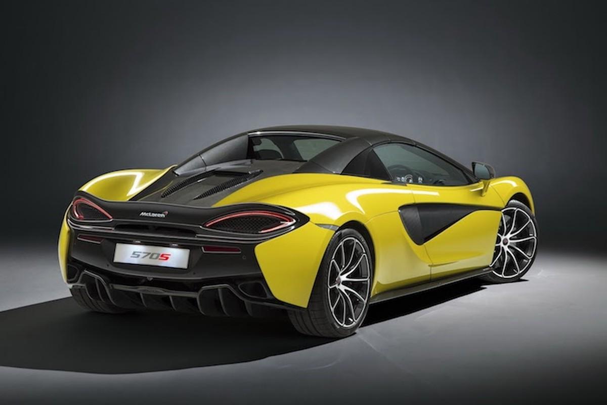 """Sieu xe mui tran McLaren 570S Spider """"chot gia"""" 3,7 ty-Hinh-3"""