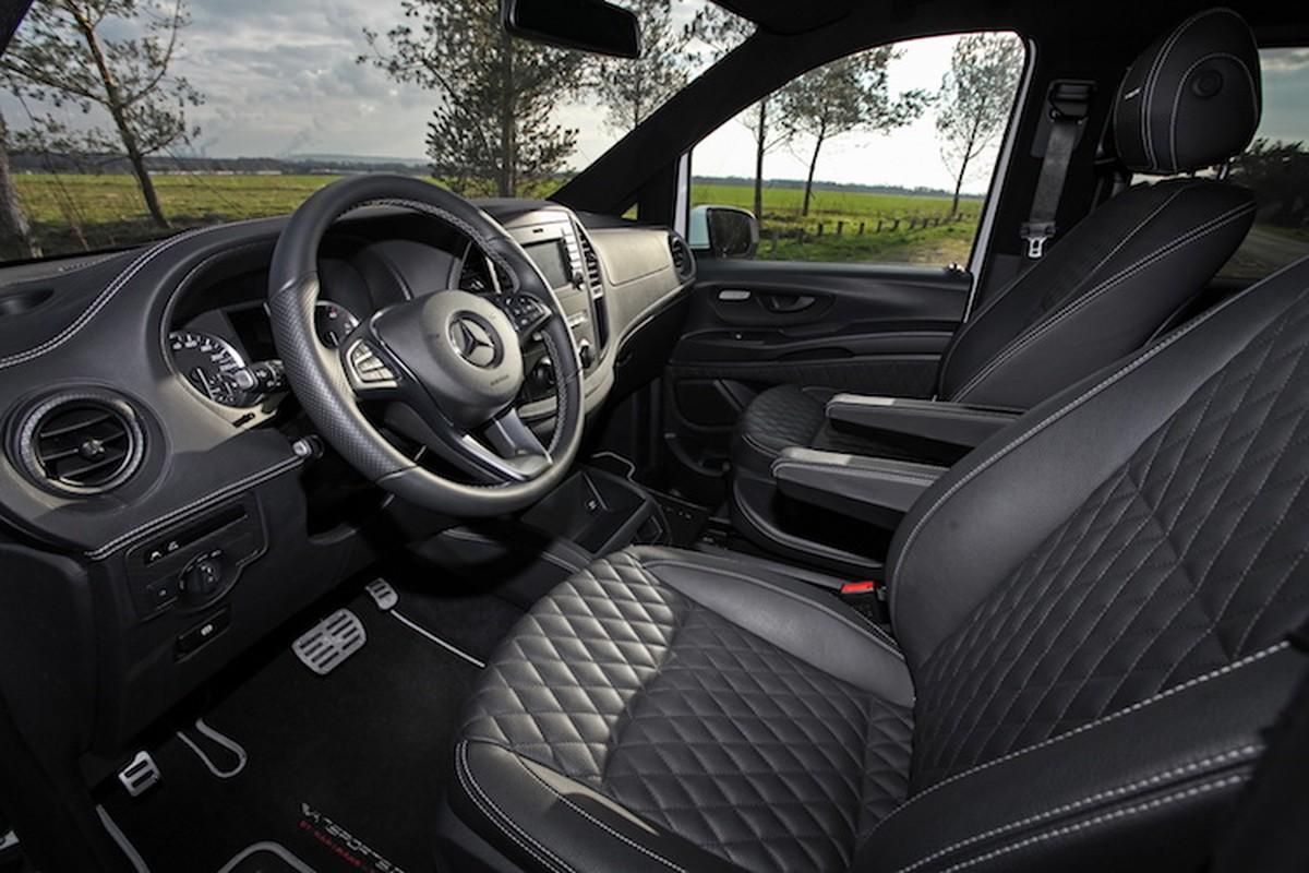 Xe Van Mercedes V-Class do sieu xe sang dang cap-Hinh-4