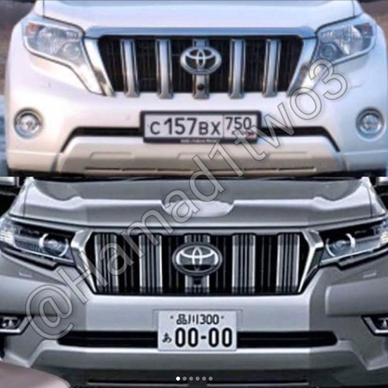 """""""Hang nong"""" Toyota Land Cruiser Prado 2018 lan dau lo dien-Hinh-6"""